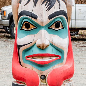 Whimsical Totem Pole